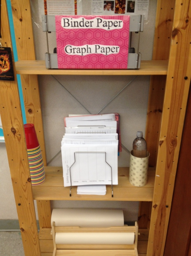 Teacher Stackable- Organization