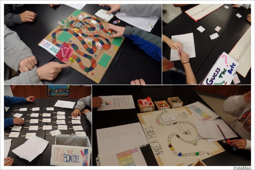 Chemistry Games- Mini PBL