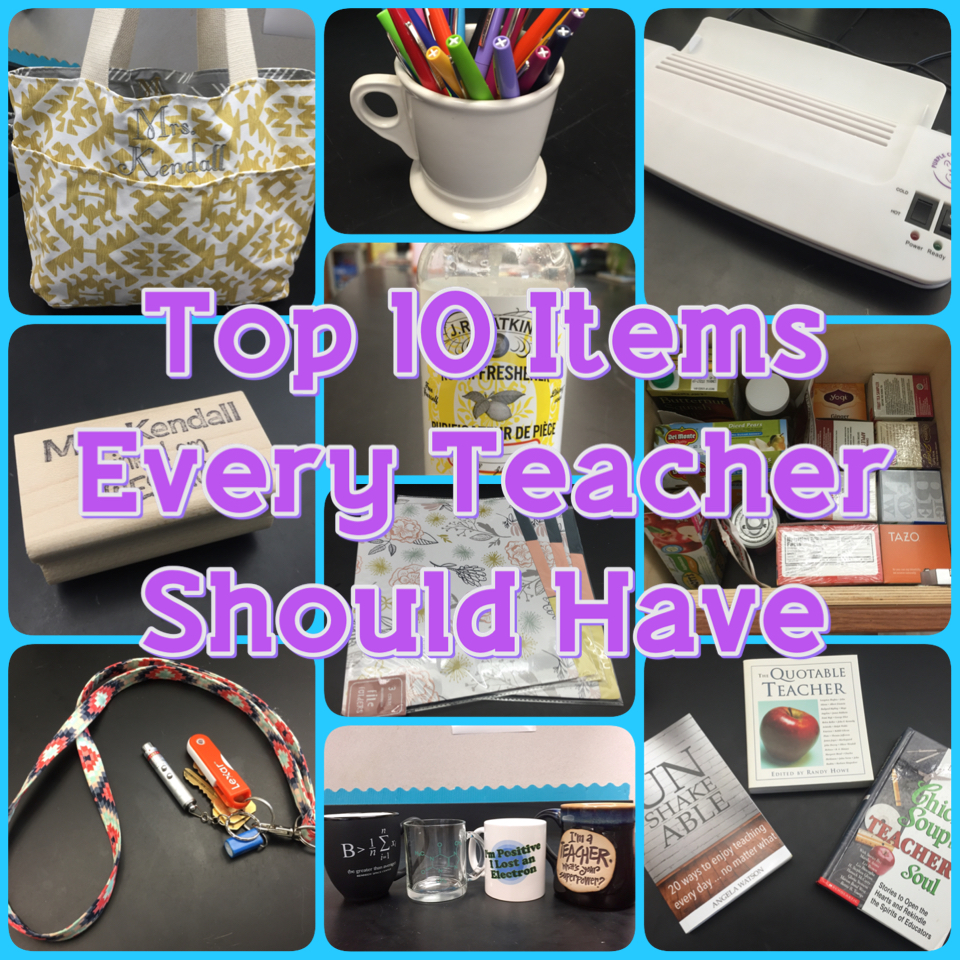 Top 10 Items Every Teacher Should Have